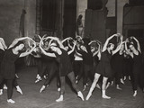 A Diaghilev's Ballet Russes class