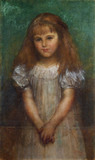Nellie Ionides, by George Frederic Watts