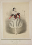 Flora Fabri the famous ballerina in popular Spanish style dance La Castigliana