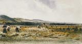 Harvest Field, by Peter de Wint