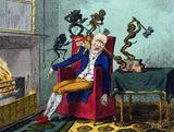 The Headache, by George Cruikshank