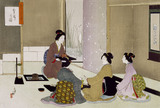 The Tea Ceremony, by Mizuno Toshikata