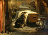 The Old Shepherd's Chief Mourner, by Sir Edwin Landseer