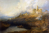 Warkworth Castle, Northumberland, by J.M.W. Turner