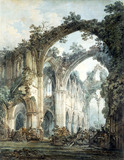 Transept of Tintern Abbey, by J.M.W. Turner