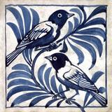 Weaver Birds, by William de Morgan