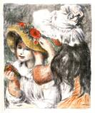 Le Chapeau Epingle, by Auguste Renoir