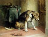 Suspense, by Sir Edwin Landseer
