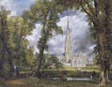 Salisbury Cathedral, by John Constable
