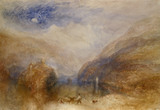 Lake of Brienz, The Lauerzersee, with The Mythens, by J.M.W. Turner