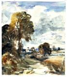 Landscape Study, by John Constable