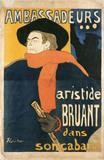 Ambassadeurs, by Henri de Toulouse-Lautrec