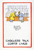 Careless talk can cost lives