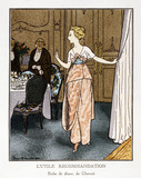 Dressed for Dinner, by Pierre Brissaud