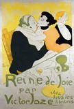 Reine de Joie par Victor Joze, by Henri de Toulouse-Lautrec