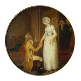 She Stoops To Conquer, by Francis Wheatley