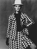 Grace Coddington wearing Nina Ricci