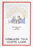 Careless talk cost lives