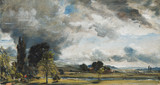 A view of Salisbury from Archdeacon Fisher's House, by John Constable