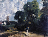 Stoke-by-Nayland, by John Constable