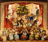 Christmas Scene from Theatre Bilderbuch