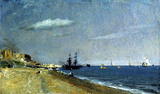 Brighton Beach With Colliers, by John Constable