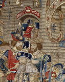 The War of Troy Tapestry, detail