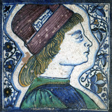 Tile. Italy, 15th century