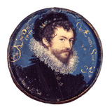 Self portrait aged 30, by Nicolas Hilliard