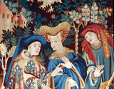 Devonshire Hunting Tapestry detail
