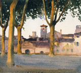 On the Walls, Lucca, by Henry H. Bulman