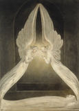 The Angels Hovering over The Body of Christ in the Sepulchre, by William Blake