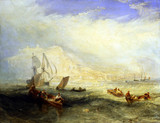 Line Fishing Off Hastings, by J.M.W. Turner