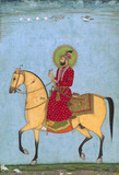 Emperor Famukhsiyar on horseback