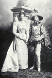 King George V and Queen Mary when Duke and Duchess of York