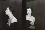 Portrait of a woman, photo Curtis Moffat