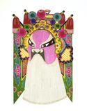 Opera Mask, Chinese Papercut