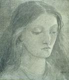 Elizabeth Eleanor Siddall, by Dante Gabriel Rossetti