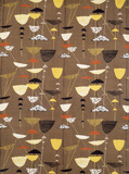 Calyx, furnishing fabric, by Lucienne Day