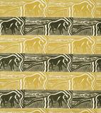 Buffalo furnishing fabric, by Diana Armfield. England, 1951