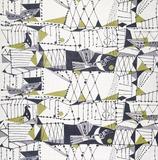 Furnishing fabric, by John Drummond. Britain, 1954