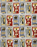 Furnishing fabric, by J.Feldman