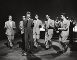 The Dallas Boys with Tommy Steele