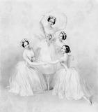 Ballerinas in Pas de Quatre