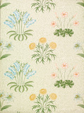 Lily wallpaper, by William Morris