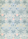 Daisy wallpaper, by William Morris
