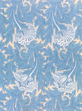Tulip furnishing fabric, by William Morris