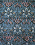 Isaphan furnishing fabric, by William Morris