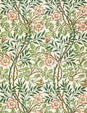 Sweetbriar wallpaper, by William Morris