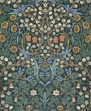Blackthorn wallpaper, by William Morris